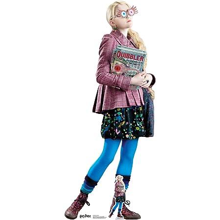 Star Cutouts de los Libros Oficiales de Harry Potter Luna Lovegood (Evanna Lynch) 156 cm de Altura, Multicolor, 156 x 64 x 156 cm