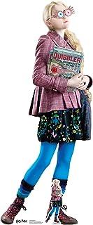 Star Cutouts de los Libros Oficiales de Harry Potter Luna Lovegood (Evanna Lynch) 156 cm de Altura, Multicolor, 156 x 64 x...