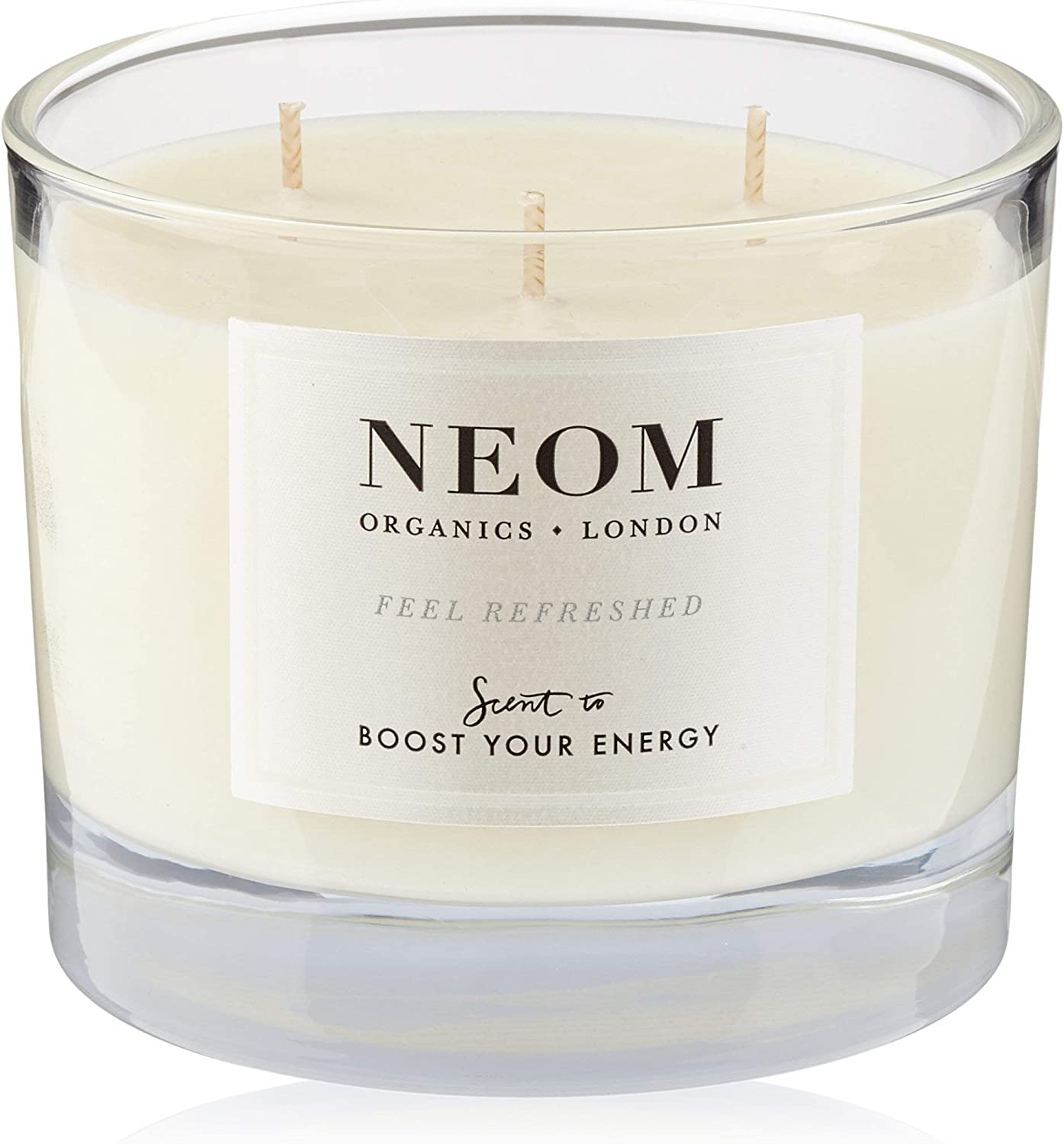 NEOM – Limited time cheap sale Beauty products Feel Refreshed Scented 14.8 Wick oz 3 Candle