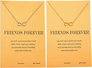 Best infinity friendship necklaces Reviews