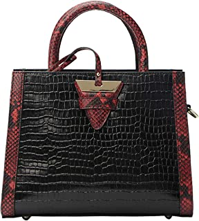 Genuine Leather Handbags for Women Top-handle Handbags Shoulder Handbags Crocodile Noble Black Shoulder Handbags for Women