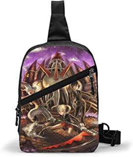 Soul Eater (47) Bolso Bandolera De Hombre Bolso Cruzada Hombre Bolsa De Pecho Sling Bag Crossbody Para Al Aire Libre Campi...