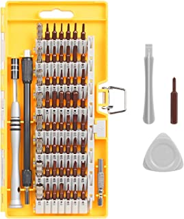 Syntus 63 in 1 Precision Screwdriver Set with 57 Bit Magnetic Screwdriver Kit Electronics..