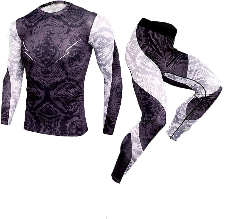 Winter Thermal Underwear Men Underwear Sets Compression Sweat Quick Drying Underwear