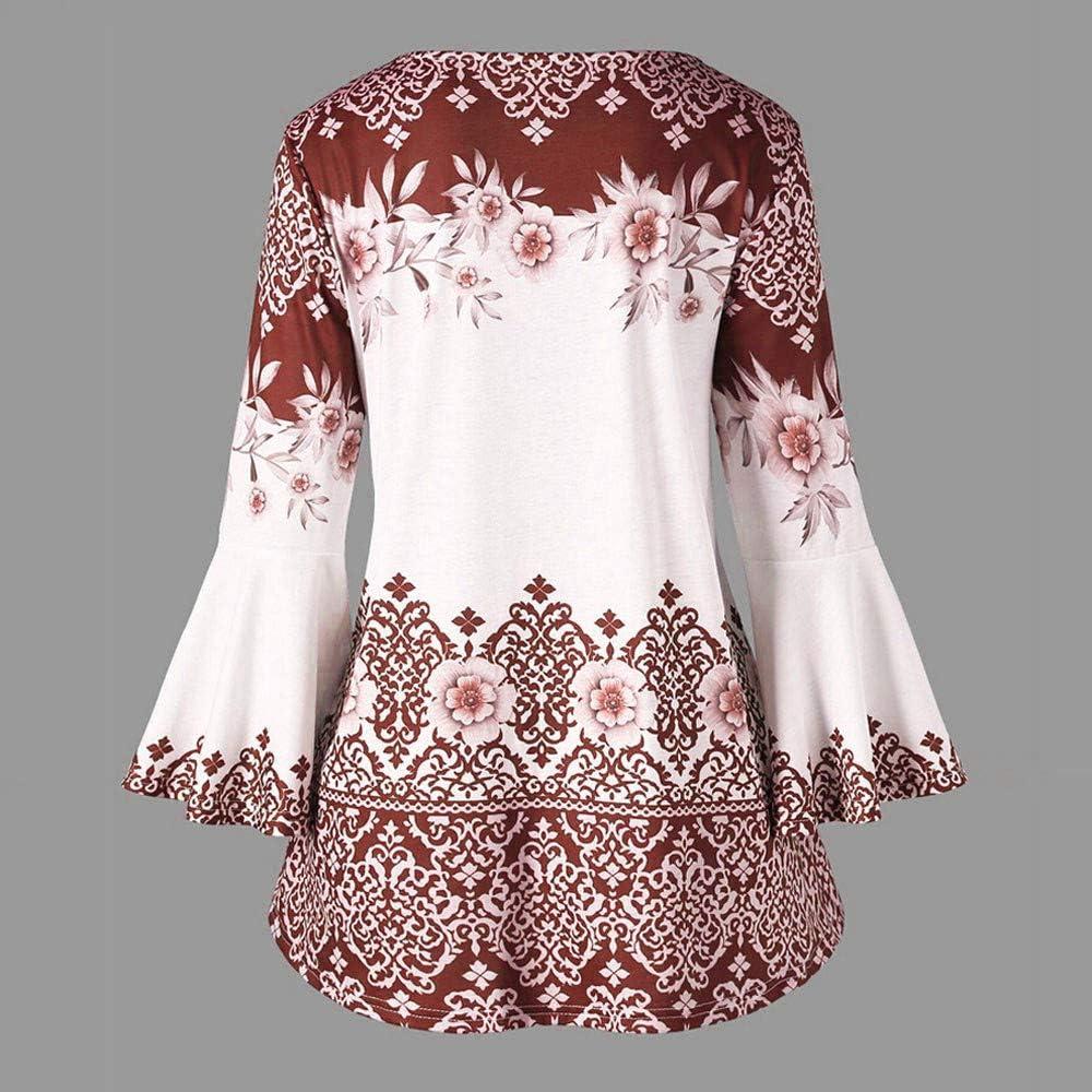 MRULIC 2020 Neue Damen Große Größe Frauen Spitze Schulterfrei T-Shirt Kurzarm Casual Top Bluse X-braun