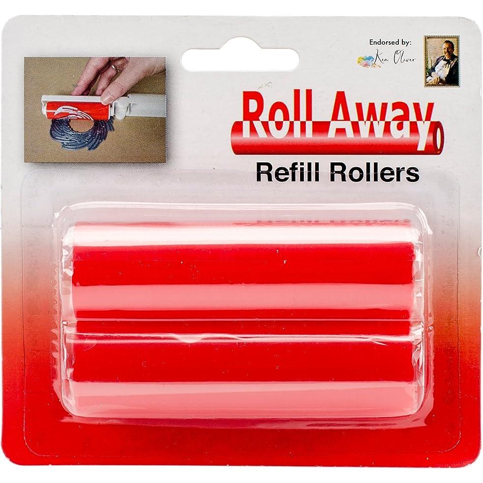 Ken Oliver RA46398 Stick It Roll Away Tacky Roller Refill 2/Pkg