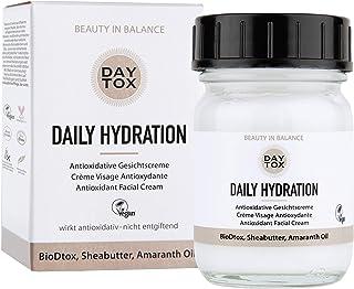 DAYTOX Daily Hydration - Crema Facial Antioxidante - Protección contra los Radicales Libres - Vegano - Sin Colorantes sin...