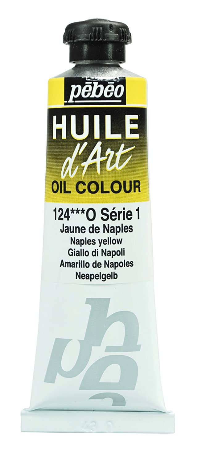 Pebeo Huile d'Art Tube, 37ml, Naples Yellow