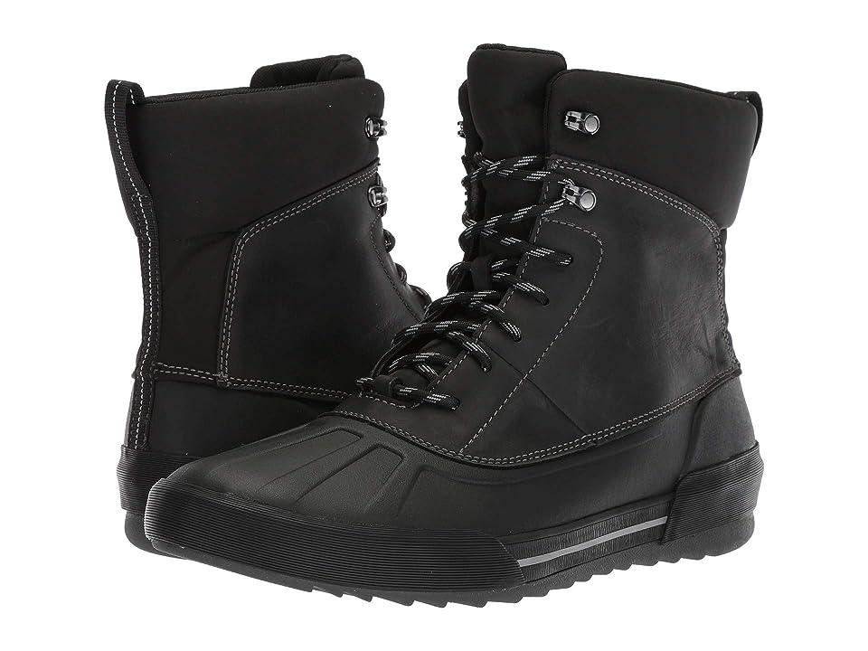 Clarks Bowman Peak (Black Leather) Men