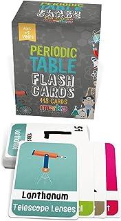 بطاقات فلاش 118 للأطفال الجدول الدوري للعناصر مع صور جميلة تمثل كل عنصر كيميائي - العلوم التعليمية للأطفال