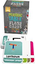 merka Educational Flashcards - Periodic Table - 118 Kids Periodic Table of Elements Cards - Beautiful Images Representing Each Chemistry Element - Educational Science for Kids - Pocket Size and STEM