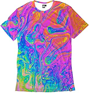 INTO THE AM Men's Casual Short Sleeve Vibrant Tee Shirts