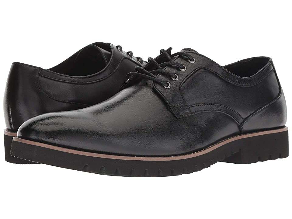 Stacy Adams Barclay Plain Toe Lace Up Oxford (Black) Men