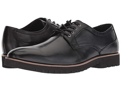 Stacy Adams Barclay Plain Toe Lace Up Oxford (Black) Men