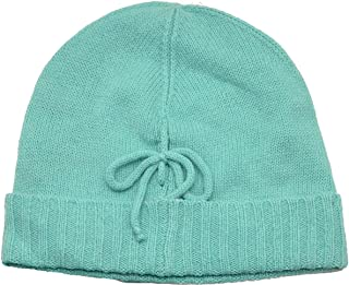 Cable Knit Touch of Cashmere Bow Beanie Hat