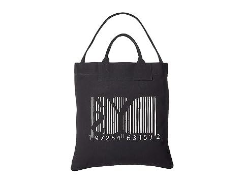 Y's by Yohji Yamamoto Barcode Print Tote
