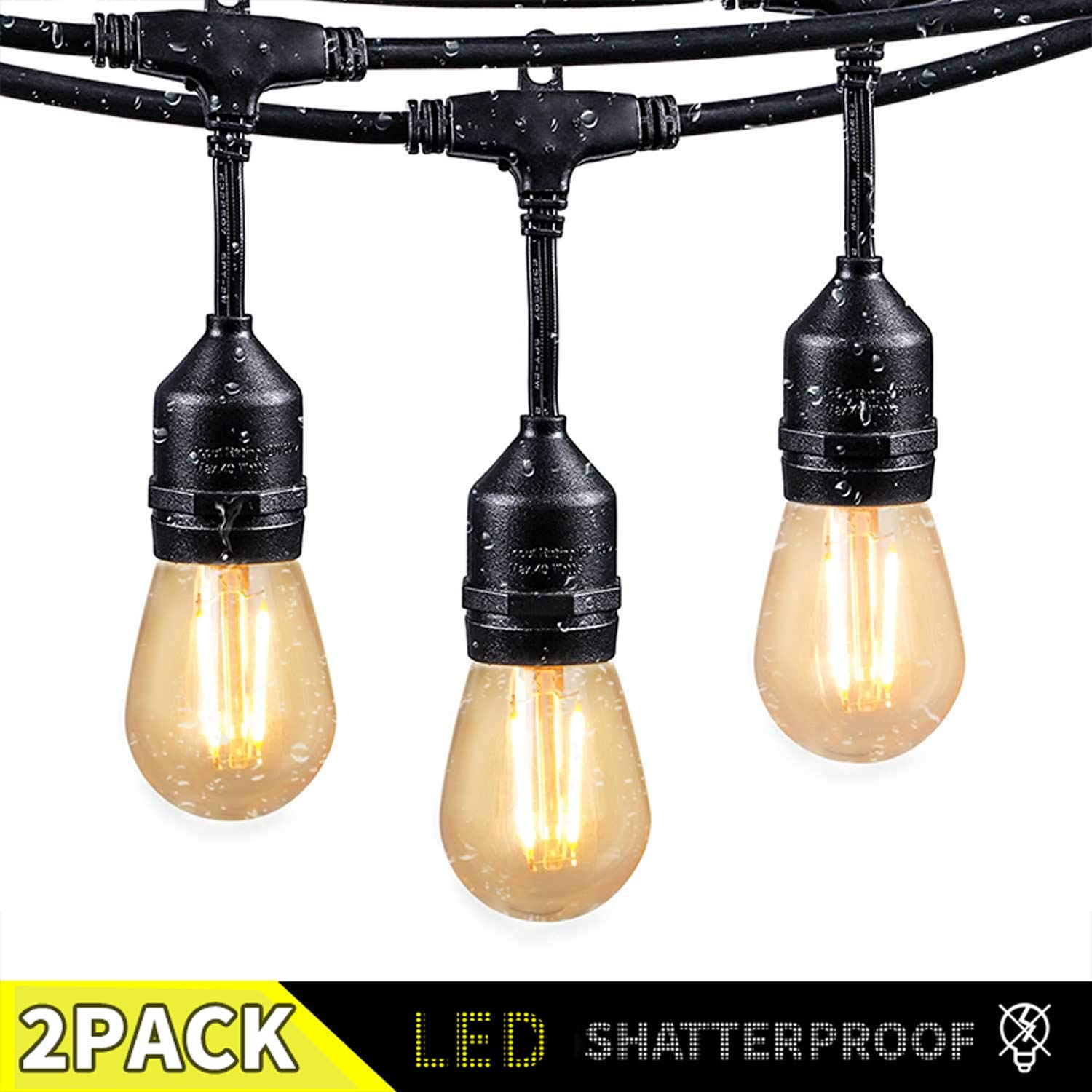Outdoor Shatterproof Bulbs UL Commercial Backyard