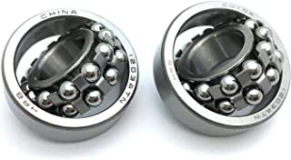 17mm*40mm*12mm bore 17mm Self Aligning Double Row Bearing C3 1203