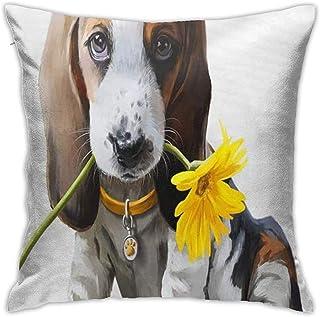 Doormats-shirt Welcome Sunny The Beagleanemone Animal Baby Hermoso Cumpleaños Cartoon Niños Ropa de cama Almohadas Decorat...