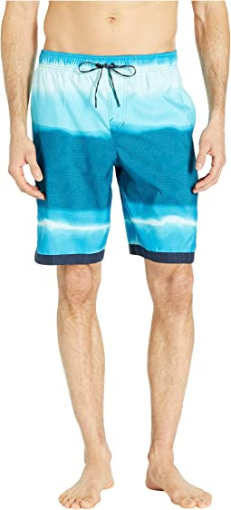 "9"" Optic Halo Horizon Volley Shorts"