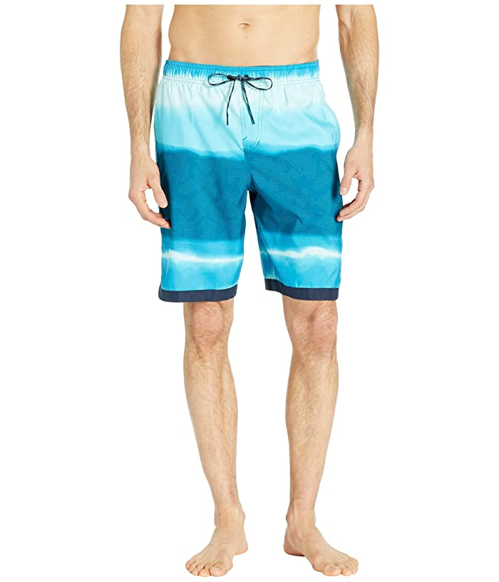 Nike 9 Optic Halo Horizon Volley Shorts (Light Blue Fury) Men