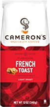 Cameron's Coffee Roasted Ground Coffee Bag, Flavored, French Toast, 12 Ounce