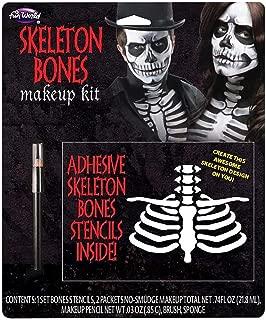 Fun World - Skeleton Makeup Kit Beautiful