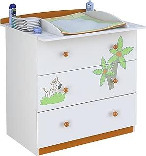 Polini Kids 1187-1 - Cambiador de pañales para bebé, color
