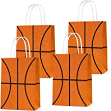 16 PCS Basketball Party Gift Bags for Basketball Party Supplies Birthday Decor Decorations, Party Favor Goody Treat Candy ...