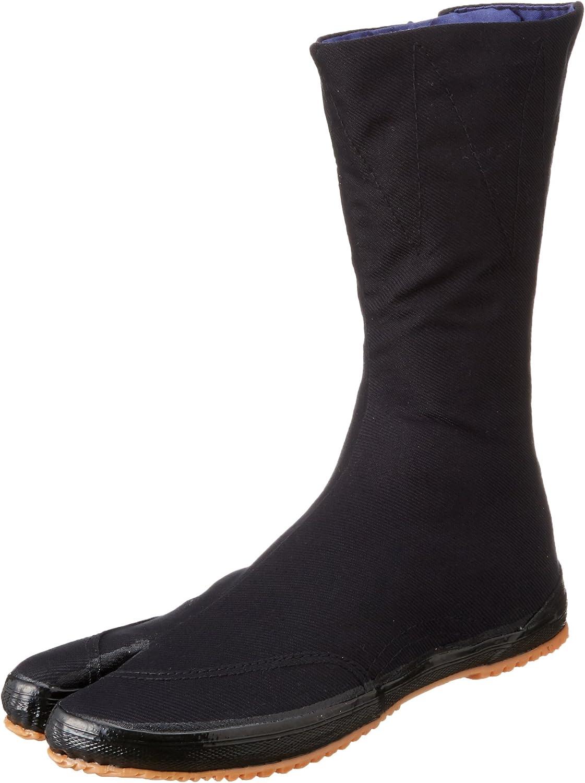 Marugo Kaisoku Japanese Phoenix Mall Tabi Shoes with Clips 12 safety Black