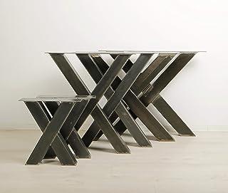 1 PAAR BestLoft® Kufen Design Tischkufen Industriedesign Tischgestell Stahl Tischuntergestell Tischkufe Kufengestell (Höh...