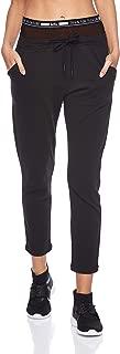 BodyTalk Women's BDTKW PANTS LOGO BAND Sweatpants With Elastic Waistband