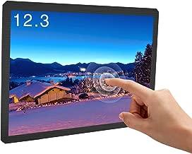 Touchscreen Monitor, 12.3 Inch Portable USB Monitor Raspberry Pi Screen LCD Display Computer Laptop VESA Monitor 1600X1200 4:3 HDMI/DVI/VGA for Pi 4/3 /2/ Zero Linux Raspbian Ubuntu Xbox /PS4 Mac Win