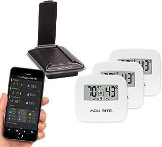 AcuRite 01166M 3-Sensor Indoor Temperature and Humidity Monitoring System