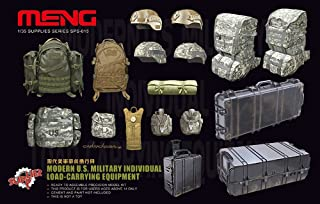 Meng Modern US Military Individual Load Carrying Equipment Plastic Model Kit (1/35 Scale)