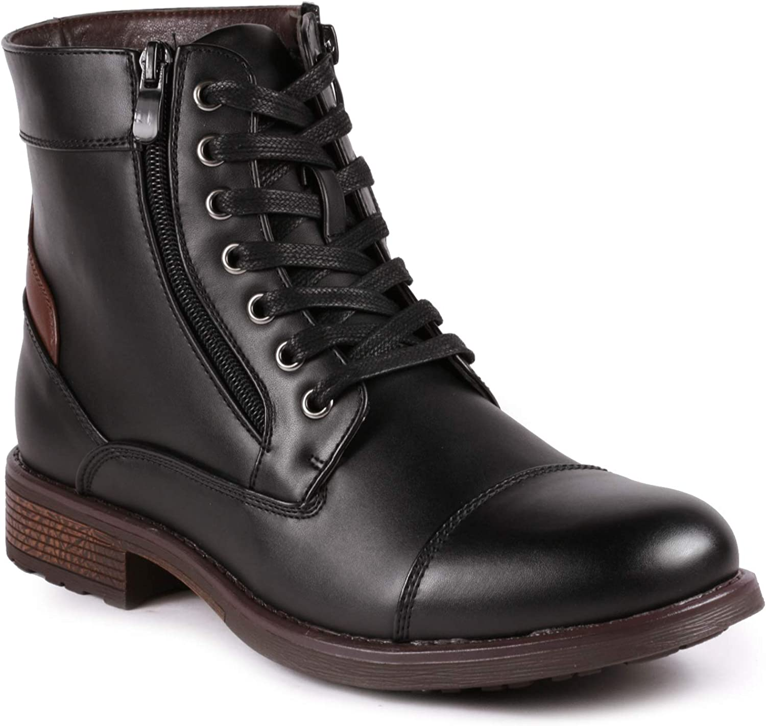 Metrocharm MC305 Men's Lace Up Cap Toe Oxford Boot