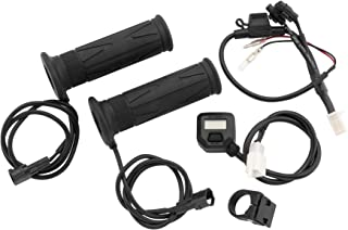 BikeMaster Heated Grips with LCD Switch (7/8