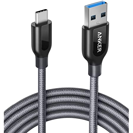 USB Type C Cable, Anker Powerline+ USB C to USB 3.0 Cable (6ft), High Durability, for Samsung Galaxy Note 8, S8, S8+, S9, S10, Sony XZ, LG V20 G5 G6, HTC 10, Xiaomi 5 and More.