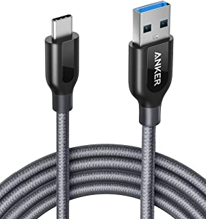 USB Type C Cable, Anker Powerline+ USB C to USB 3.0 Cable (6ft), High Durability, for Samsung Galaxy Note 8, S8, S8+, S9, iPad Pro 2018, MacBook, Sony XZ, LG V20 G5 G6, HTC 10, Xiaomi 5 and More