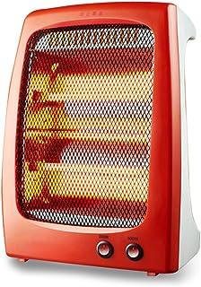FEI Calefactor Portátil  Calentador halógeno de 2 Barras de Cuarzo 600 W Corte de Seguridad de inclinación
