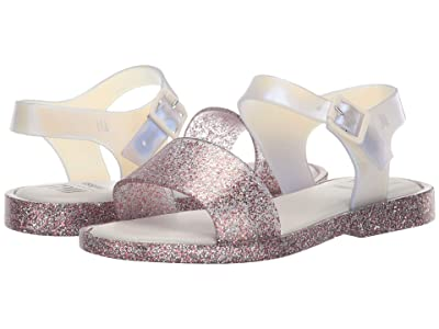 Mini Melissa Mel Mar Sandal INF (Little Kid/Big Kid) (Purple Glitter) Girl