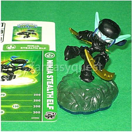 Skylanders Swap Force: Ninja Stealth Elf - New In Bulk Packaging