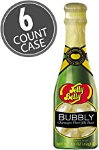 Jelly Belly Bubbly Champagne Flavored Jelly Beans Bottle (Pack of 6)