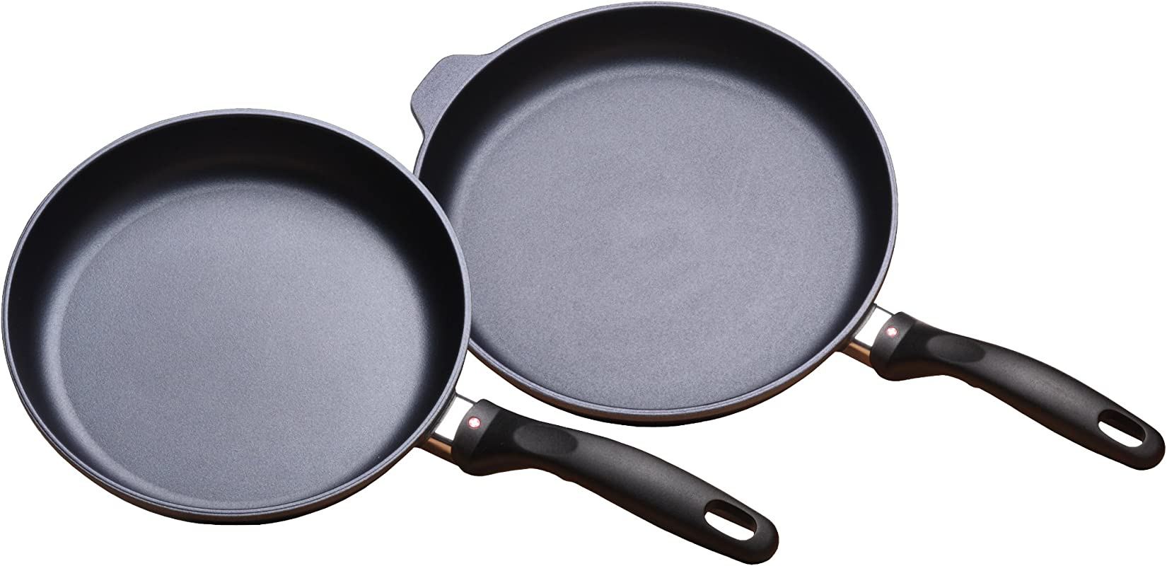Swiss Diamond 2 Piece Set Fry Pan Duo 9 5 And 11