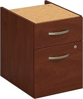 Cherry Linea Italia SV752CH Seven Series Mobile Pedestal File Box//File Drawer