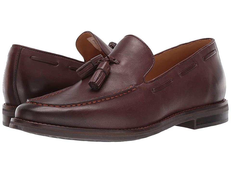 Sperry Gold Exeter Tassel Loafer (Brown Leather) Men