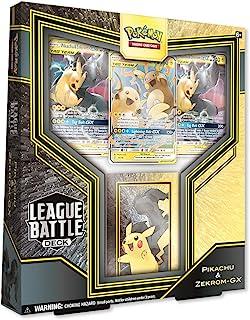 Pokémon TCG: League Battle Deck Featuring Pikachu & Zekrom-GX