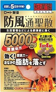 【第2類医薬品】新・ロート防風通聖散錠満量 60錠