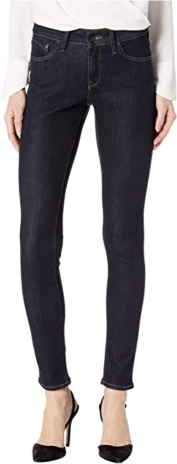 Alexa Mid-Rise Skinny in Rinse Supersoft