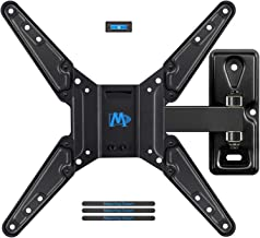 Mounting Dream Full Motion TV Wall Mount Bracket Fits Most of 26-55 Inches LED, LCD TV, Mount with Articulating Arms, 55 LBS Loading Capacity, max VESA 400 x 400mm MD2411-MX